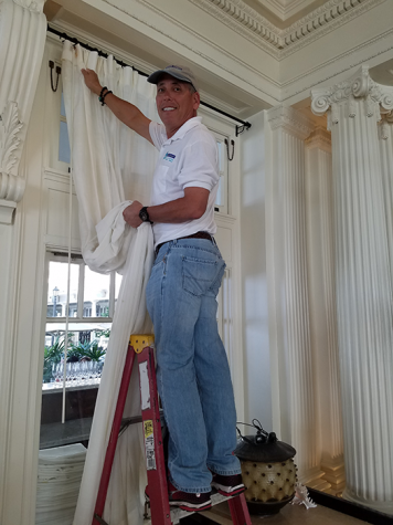 Mobile Drapery Cleaning Services- Honolulu, Hawaii