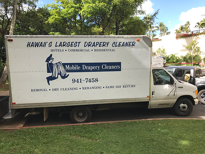 Drapery Cleaning Services- Honolulu
